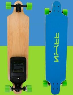 Nuff 1000 Watt Electric Skateboard Long Board Blue Teal  BRA