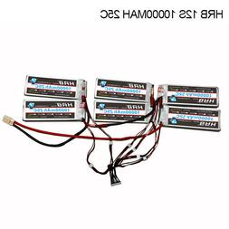 HRB 12S 10000mAh 25C high spec Lipo battery assembly for ele