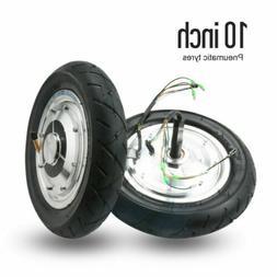 "2 x 10"" Replacement Wheel Rim Tire Electric Motor SKATE BOAR"