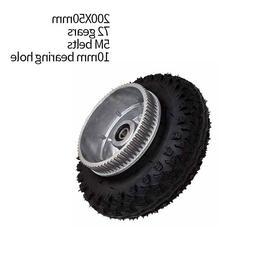 200*50mm Electric Skateboard Gear Motor Truck Wheels Combo