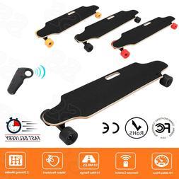 250W Longboard Electric Skateboard 20km/h Dual Hub Motors Lo