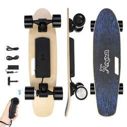 Electric Skateboard 12 MPH 350W Hub Motor 6 Mile Range Stand