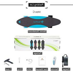 "27"" Electric Skateboard 20 KM/H Top Speed 500W Charge For 1"