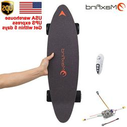 27 inch electric skateboard with wireless remote