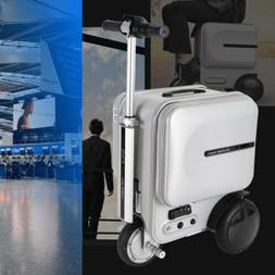 Airwheel 29.3L Silver PC Electric Skateboard & Suitcase/Lugg