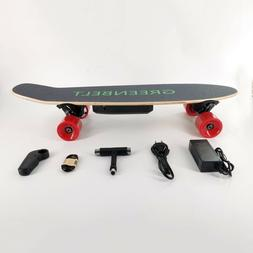 """29"""" 7-Layer Maple Electric Skateboard with Remote Control &"""