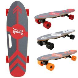 3-Speed Electric Skateboard Lithium Battery Powered with Rem