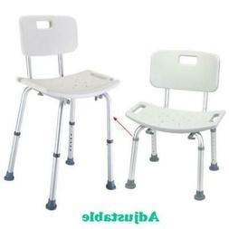 300 lb. Elderly Bathroom Bath Shower Seat Chair Bench Stool