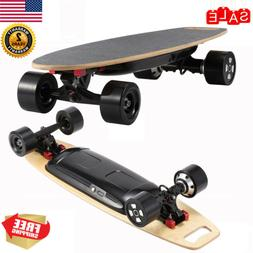 300W 25km/H Dual Brushless Motor Electric Longboard Skateboa