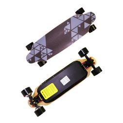 """32"""" Electric Skateboard Longboard Dual Motor 15.5MPH Hands-F"""