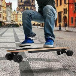 "Electric/No Skateboard Adult Wireless Longboard 2.9""Wheels W"