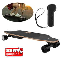 35 electric skateboard longboard with remote controller