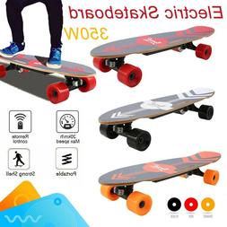 Nesaila 350W Electric Skateboard Cruiser Longboard with Remo