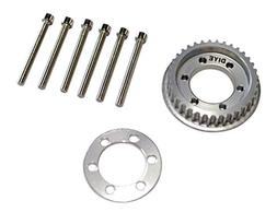DIYE 36 Teeth 10mm Wide Drive Flywheel Pulley Kit Parts for