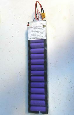 36V 4.4Ah Electric Skateboard Battery Pack 4 Wheels Board Li