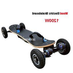 4 Wheels <font><b>Electric</b></font> <font><b>Skateboard</b