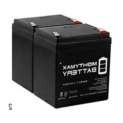 Mighty Max Battery 12V 5AH Battery Replacement for Surge Ele