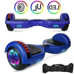 "6.5"" UL2272 Hoverboard Self Balancing Scooter LED Skateboard"
