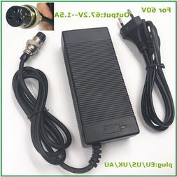 67.2V1.5A 67.2V 1.5A <font><b>charger</b></font> for 60V Whe