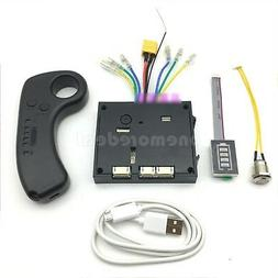6S 24V Electric Skateboard Controller Longboard+RC Dual Moto