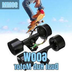 90mm Dual 6364 Hub Motors Drive Kit For DIY Electric Skatebo
