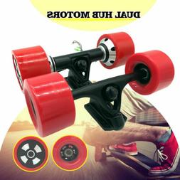 90mm Dual 6364 Hub Motors Drive Kit For Electric Skateboard