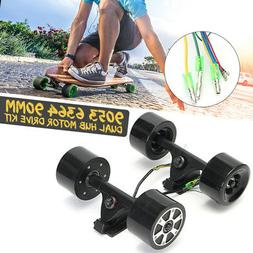 90mm Dual 6364 Hub Motors Drive Parts Electric Skateboard Lo