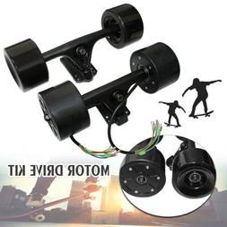 90mm Powered Dual  Hub Motor Drive Kit For DIY Electric Skat