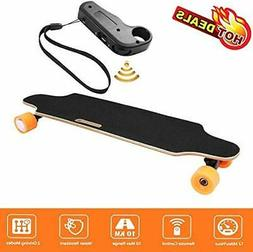 Aceshin Electric Skateboard with Wireless Remote Control for