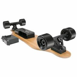 Dual Motorized Electric Skateboard with Wireless Remote Cont