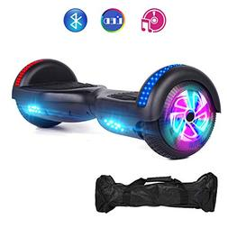 VEVELINE Black Two-Wheel Self Hoverboard Balancing Electric