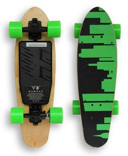 Brand New Electric Skateboard Metropolis Short Board - Green