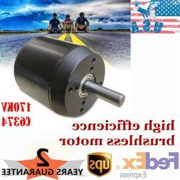 C6374 Brushless Motor 170KV sensored for Electric Skateboard
