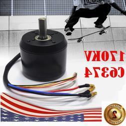 C6374 efficience brushless motor 170KV for electric skateboa