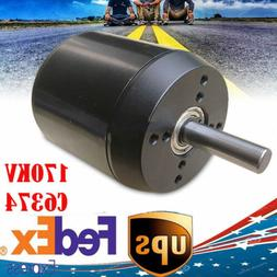 C6374 efficience sensored brushless motor 170KV for electric