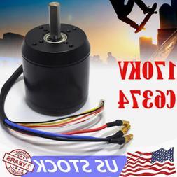 C6374 high efficience brushless motor 170KV for electric ska