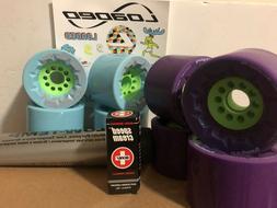 Orangatang Caguama 85 mm Wheels For eSkateboard. Bundle.New