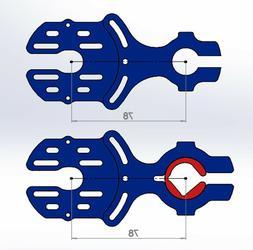 CNC motor mount for 50/63 motors  for DIY eskate electric sk