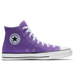 Converse Cons Purple CTAS Pro High Top Canvas Shoes Electric