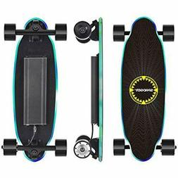 Spadger D5X Electric Skateboard, 20'' Mini Electric Skateboa