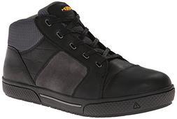 KEEN Utility Men's Destin Mid Steel Toe Shoe,Black/Gargoyle,
