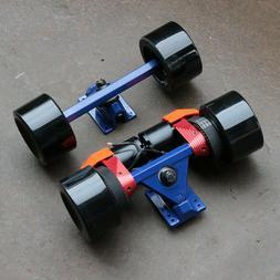 DIY Dual Electric Skateboard Dual Belt Dual Motor Kit Ownboa