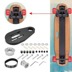 DIY Pulley Kit And Motor Tool Set Mount for Electric Skatebo