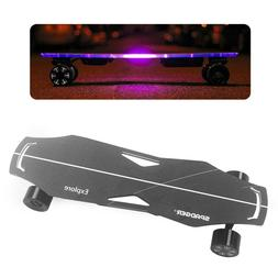 Dual Hub Motor Electric Skateboard Longboard Remote Control