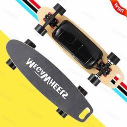 Dual Hub Motorized Electric Skateboard 500W Scooter Maple De