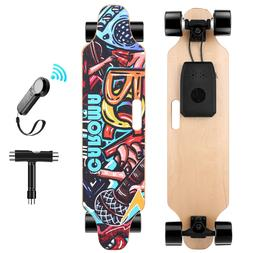 Dual Motors Max 350Wx2 36'' Electric Skateboard Maple Longbo