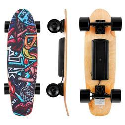 Electric Skateboard 20KM/H Power Motor Cruiser Maple Long Bo