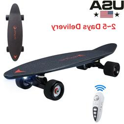 electric skateboard 27 inch with wireless remote