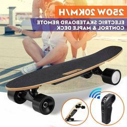 ANCHEER Electric Skateboard 350W Motor Longboard Board Wirel