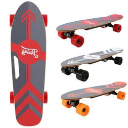 Electric Skateboard Dual Motor Longboard Board Wireless w/Re
